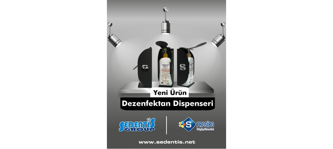 DEZENFEKTAN DİSPENSERİ
